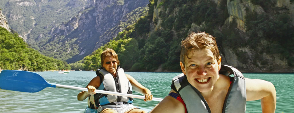 Kayaking on a Go Provence holiday